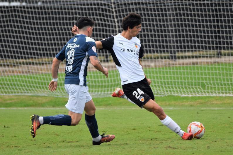 Facu González ya compite y vuelve a sentirse futbolista tras superar la lesión