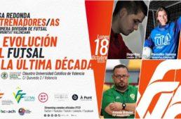 Mesa redonda de entrenadoræs de fútbol sala de Primera División este lunes 18 de octubre