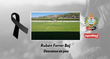 La tragedia golpea al Pinoso CF: fallece el juvenil de 16 años Rubén Ferrer