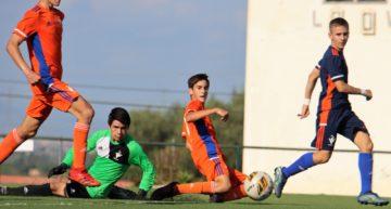 Goles y ritmo intenso en el segundo amistoso de la Selecció Valenciana masculina Sub-14 de fútbol