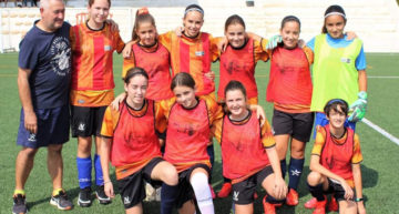 El Benicarló CF Femenino dota de pasión y colorido el tercer 'Valenta Radio' 21-22