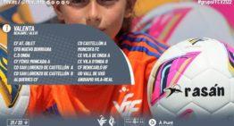 Oficiales los 5 grupos de Benjamín-Alevín Valenta para la temporada 21-22